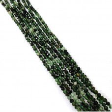 Natural Emerald 2-2.5mm round facet beads strand