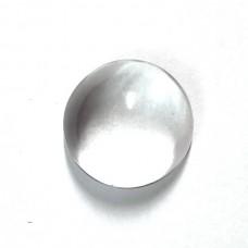 Crystal quartz 20mm round cabochon 30.0 cts