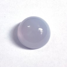 Natural chalcedony 20mm round cabochon 32.5 cts