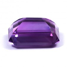 Amethyst octagon 14x10mm emerald cut 7.5 cts