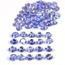 Tanzanite 5x4mm oval cut 18.2 cts