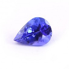 Tanzanite 7x5mm pear cut 0.75 cts