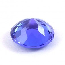 Tanzanite 6mm round cut 0.8 cts
